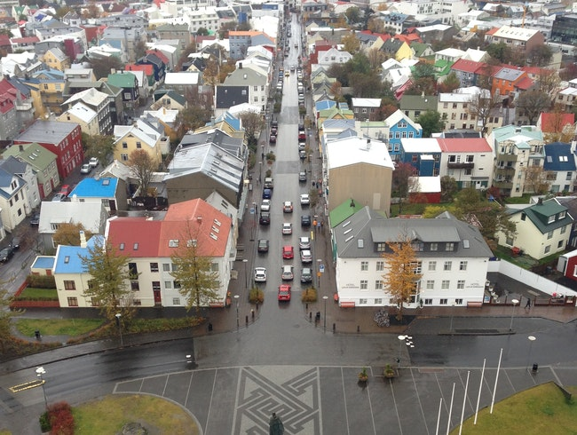 Great view and best way to see the whole city of Reykjavik