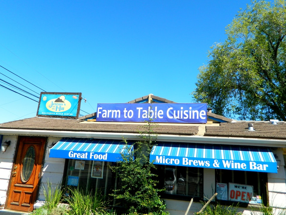 Farm-to-table dining just outside Julian