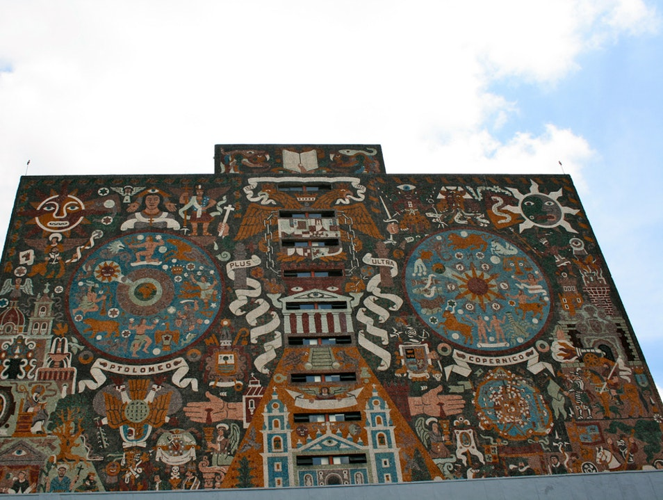 Massive Mosaics and More at UNAM Mexico City  Mexico