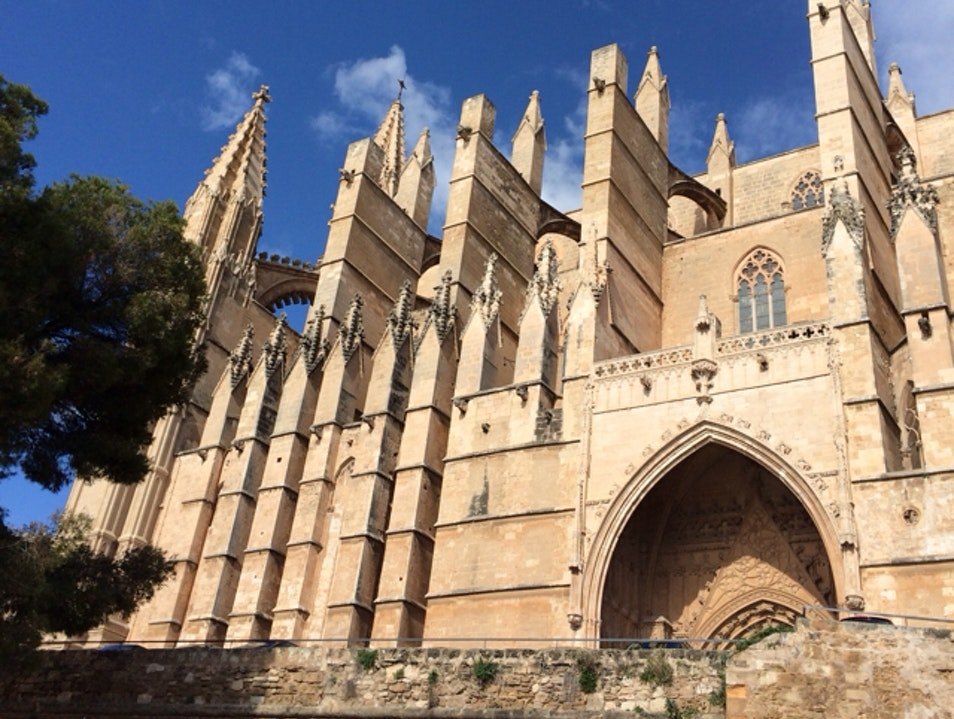 A cool escape from the beach Palma  Spain