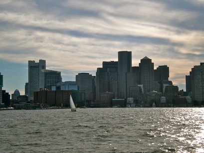 Boston Harbor Island Ferry Boston Massachusetts United States