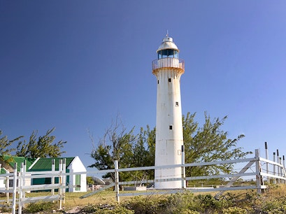 Grand Turk Lighthouse Cockburn Town  Turks and Caicos Islands