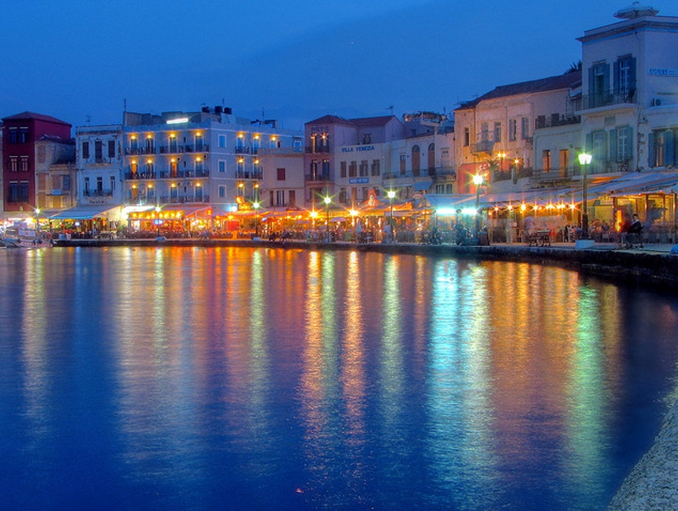 Chania, a Venetian Waterfront Town Chania  Greece
