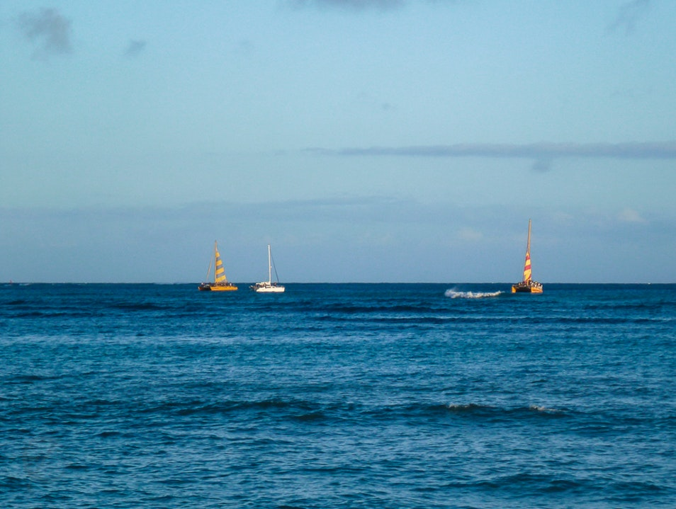Sea Legs for Sailing Honolulu Hawaii United States