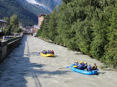 Arve River Chamonix  France