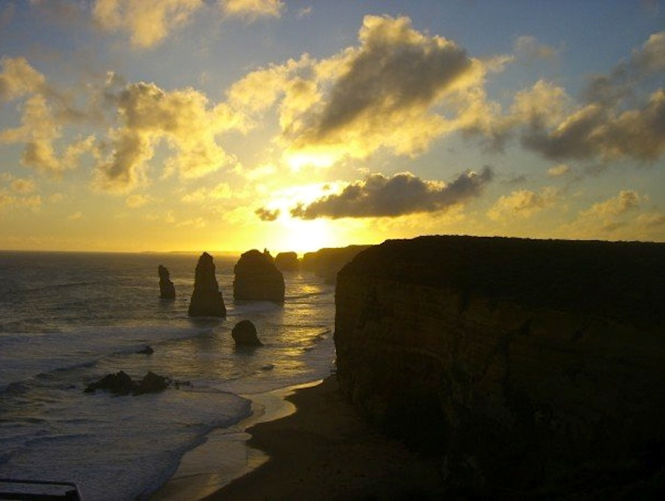The Great Ocean Road's Spiritual View Port Campbell  Australia