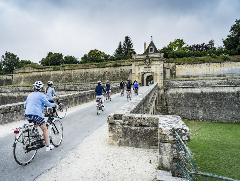 Blaye to Bourg by Bicycle Blaye  France
