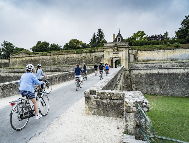 Blaye to Bourg by Bicycle