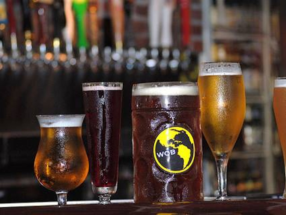 Drink around a World of Beer