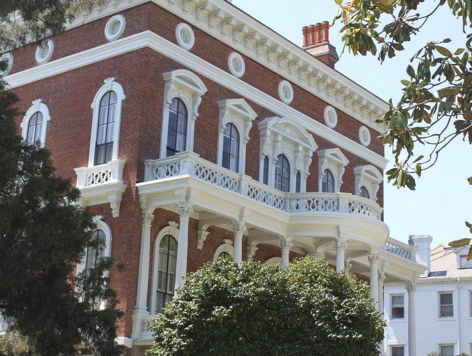 Macon's Historic Italian Renaissance Revival Mansion Macon Georgia United States