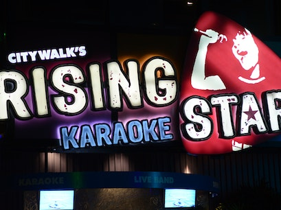 CityWalk's Rising Star Orlando Florida United States