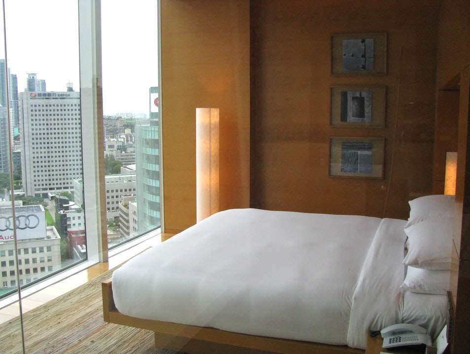 Staying at the luxurious Park Hyatt Seoul