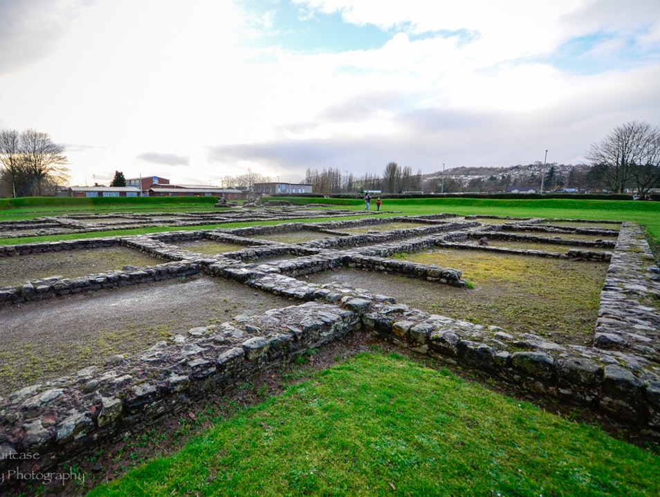 Roman barrack buildings  Caerleon  United Kingdom