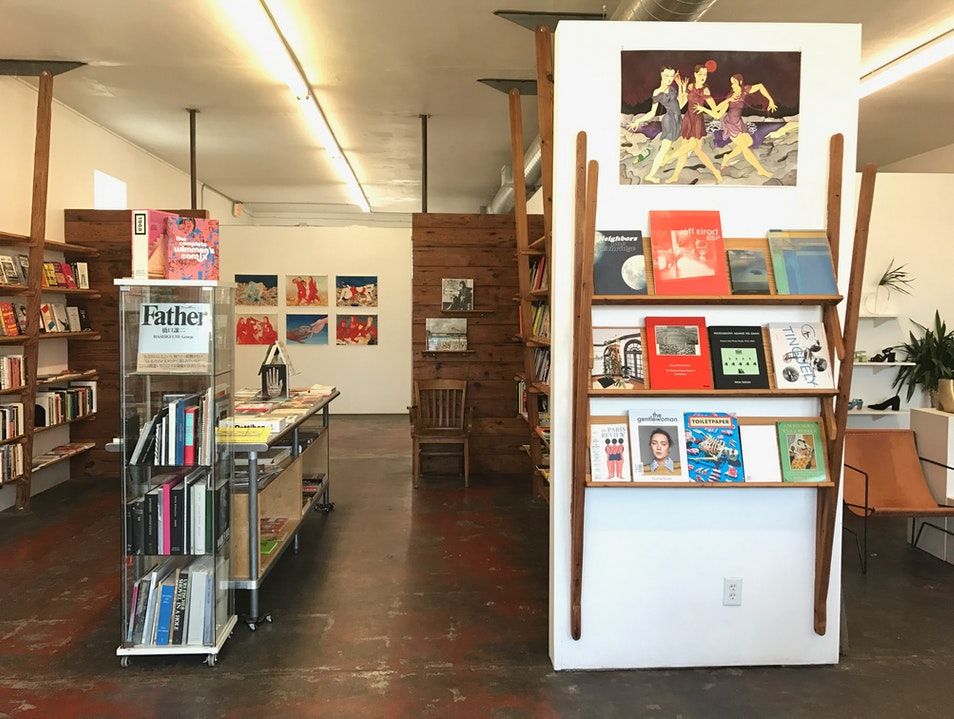 Bookstore & Art Gallery all in one Austin Texas United States