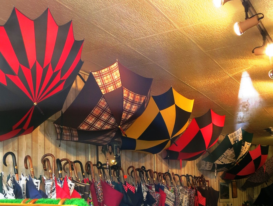 Unique umbrellas made by hand Poitiers  France
