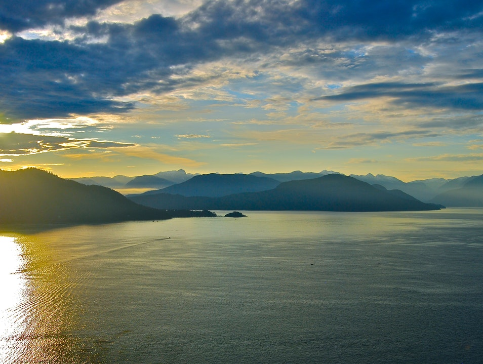 Sea-to-Sky Highway Vancouver  Canada
