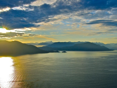 Sea to Sky Highway Vancouver  Canada