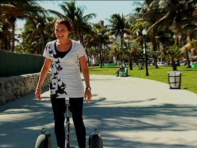 Handless Segways in Hollywood Beach