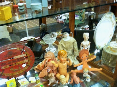 Downstairs at Felton Antiques Waltham Massachusetts United States