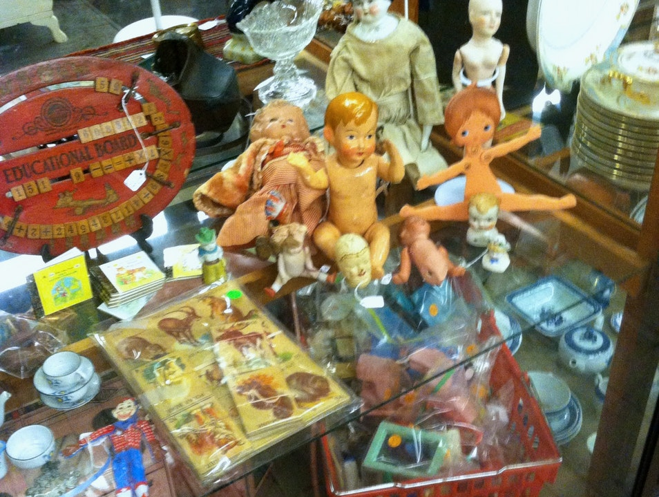 Spend Some Time Sifting Through Antiques