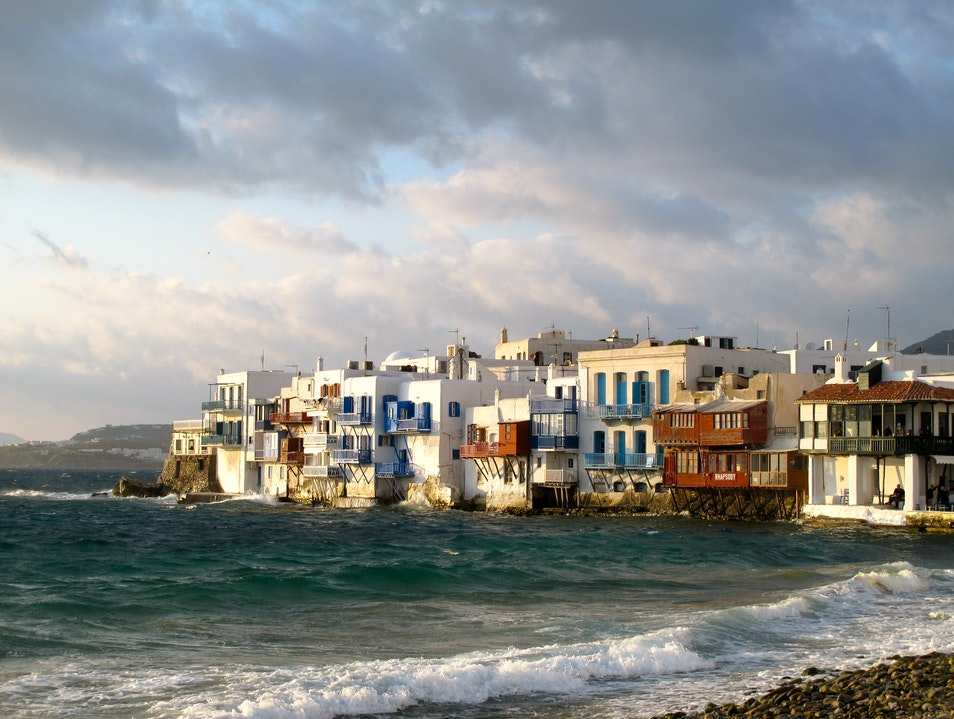 Feeling Right at Home in Mykonos