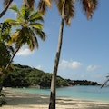 Honeymoon Beach St Thomas  United States Virgin Islands