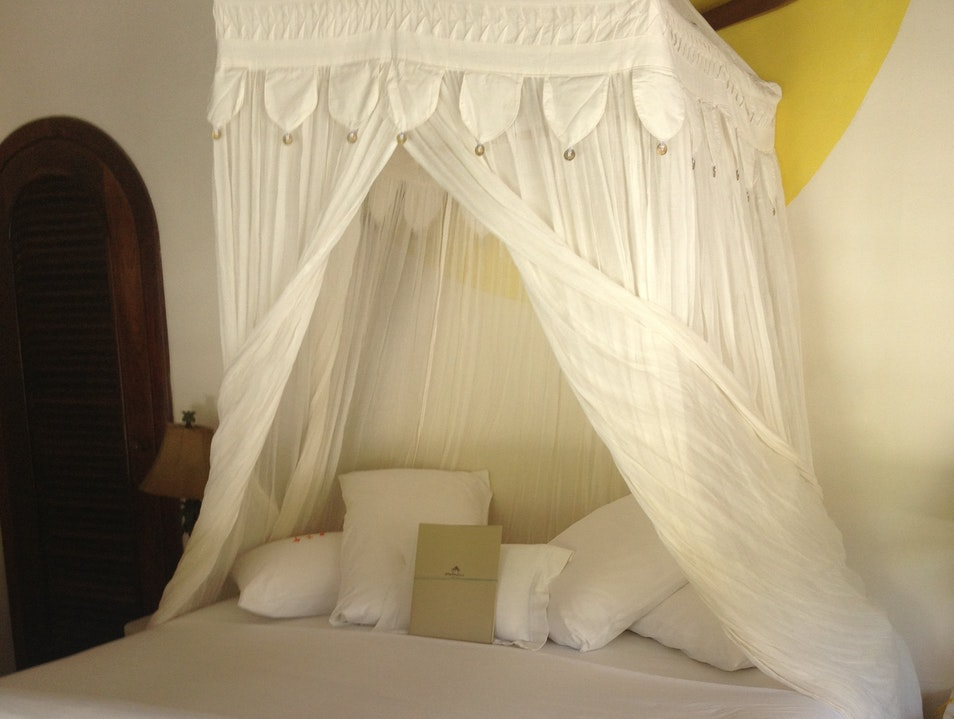 The Bed at Matachica Resort  Corozal District  Belize