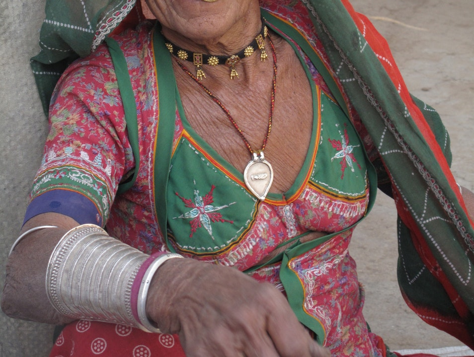 Meeting a Bishnoi Matriarch in Rajasthan Jodhpur  India