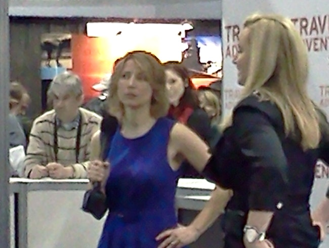 Samantha Brown at Chicago Adventure & Travel Show