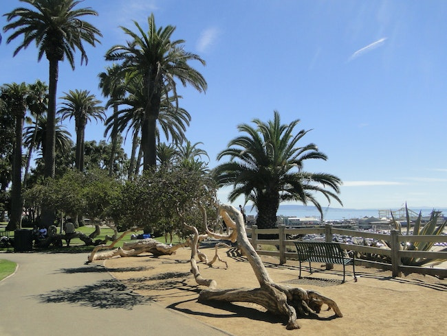 Amusement and Solace in Santa Monica
