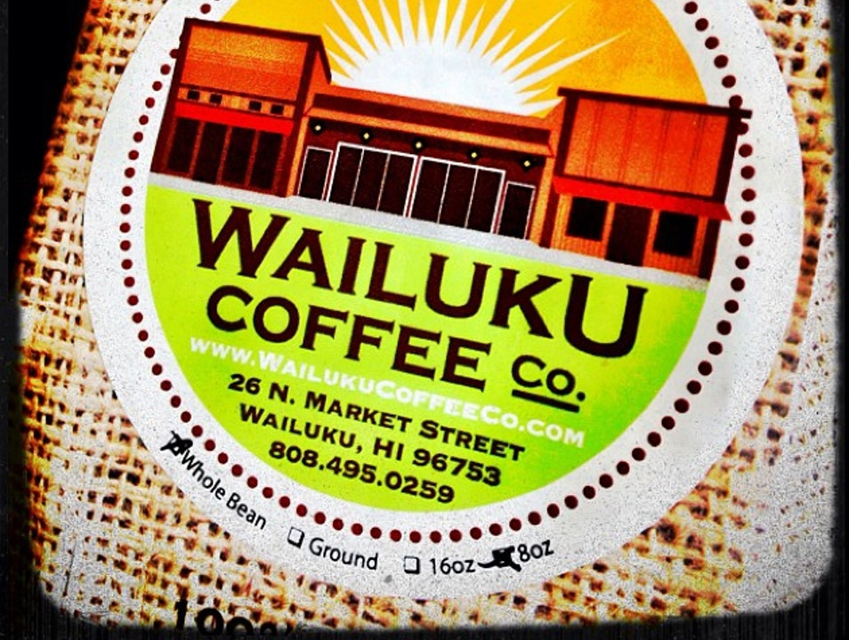 Slow down and smell the caffine Wailuku Hawaii United States