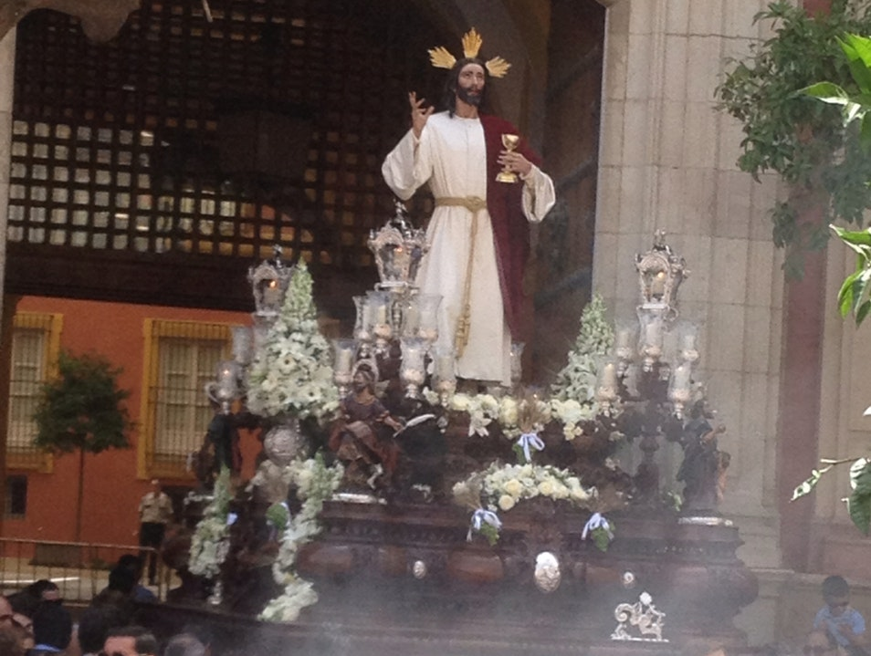 Procession of Corpus Christi. Seville  Spain