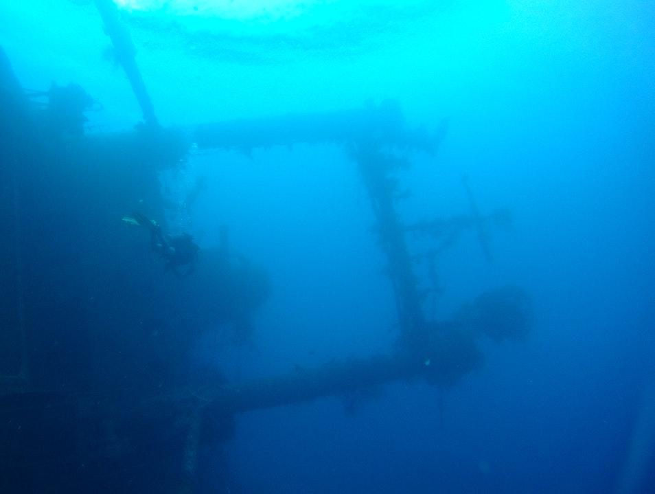 Wreck Diving in the Red Sea Aqaba  Jordan