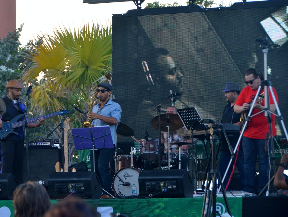 Ventana al JazzFest - Music under the Stars San Juan  Puerto Rico