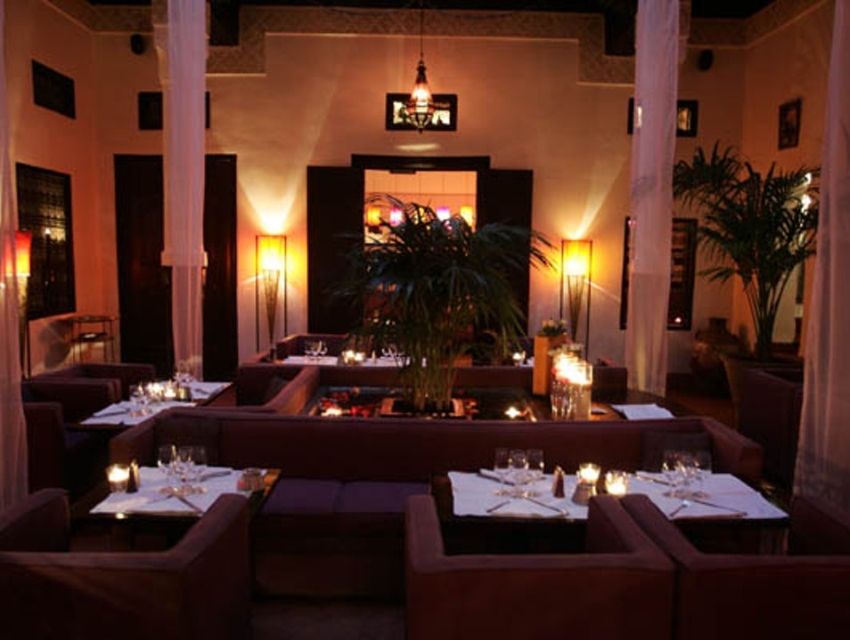 Fabulous Restaurant (if you find it) Marrakech  Morocco