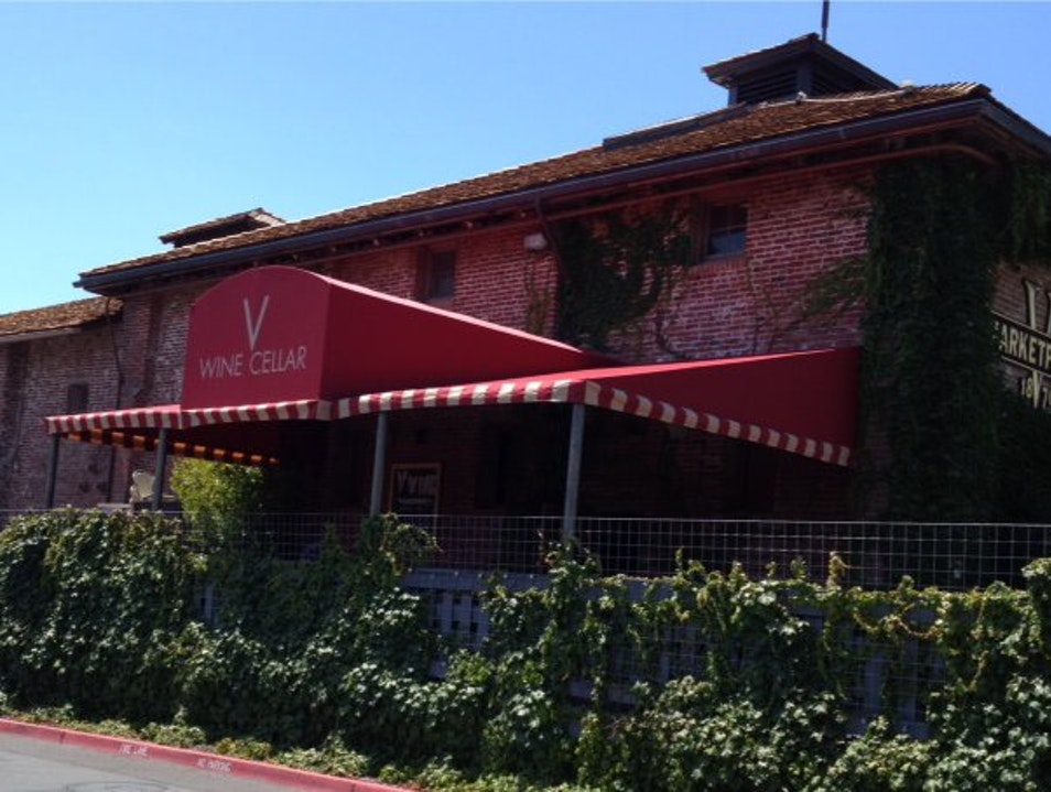 Shop for Local (and Not-So-Local) Wines at V Wine Cellar Yountville California United States