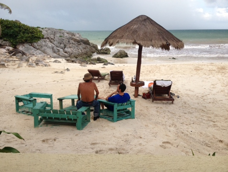 A Secluded Beach Getaway Tulum  Mexico