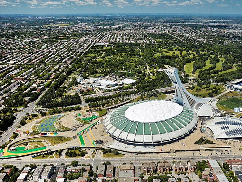 Olympic Park Montreal  Canada