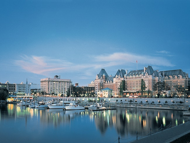 Fairmont Empress, Victoria, British Columbia