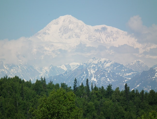 Mount McKinley on a perfect day!