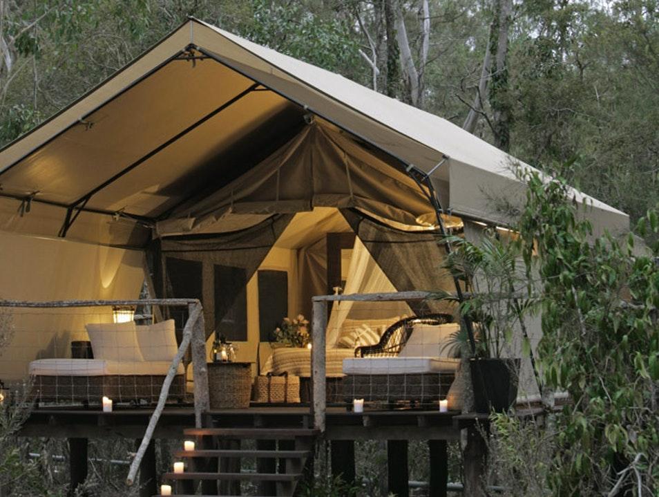 Luxe Camping (Glamping) in NSW Woollamia  Australia