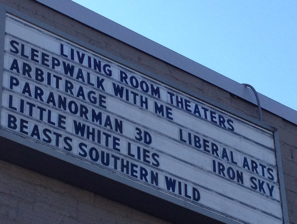See a Film at the Living Room Theaters Portland Oregon United States