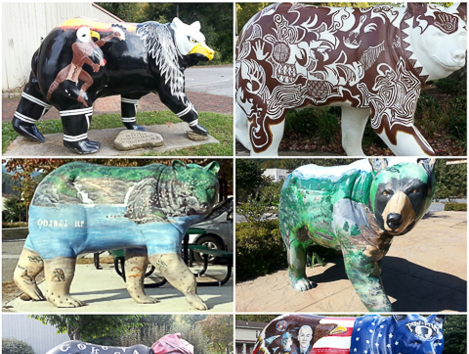 Sculpture, Culture and Bears, Oh My! Cherokee North Carolina United States