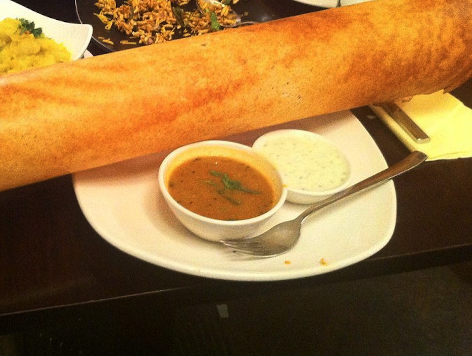 Authentic Dosas in the Middle of London  London  United Kingdom