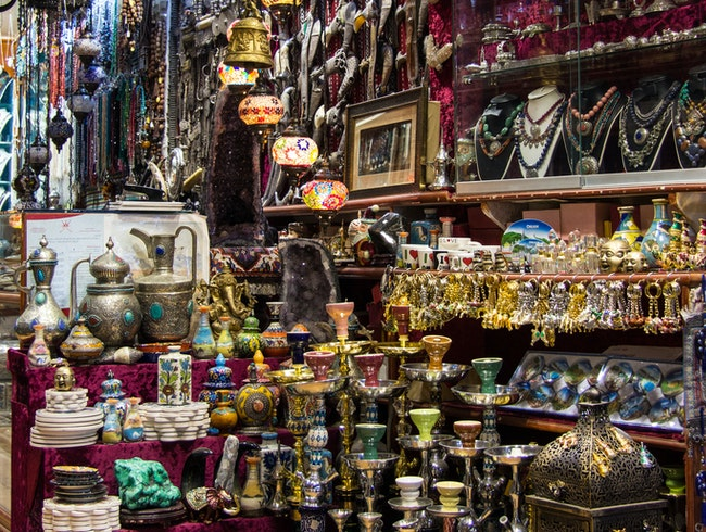 An Ersatz Souq of Shopping Delights