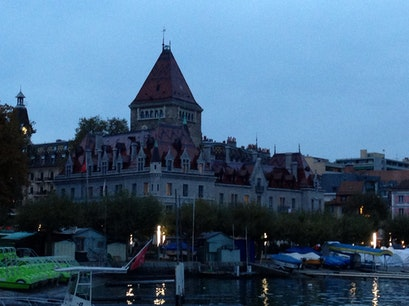 Le Chateau d'Ouchy Lausanne  Switzerland