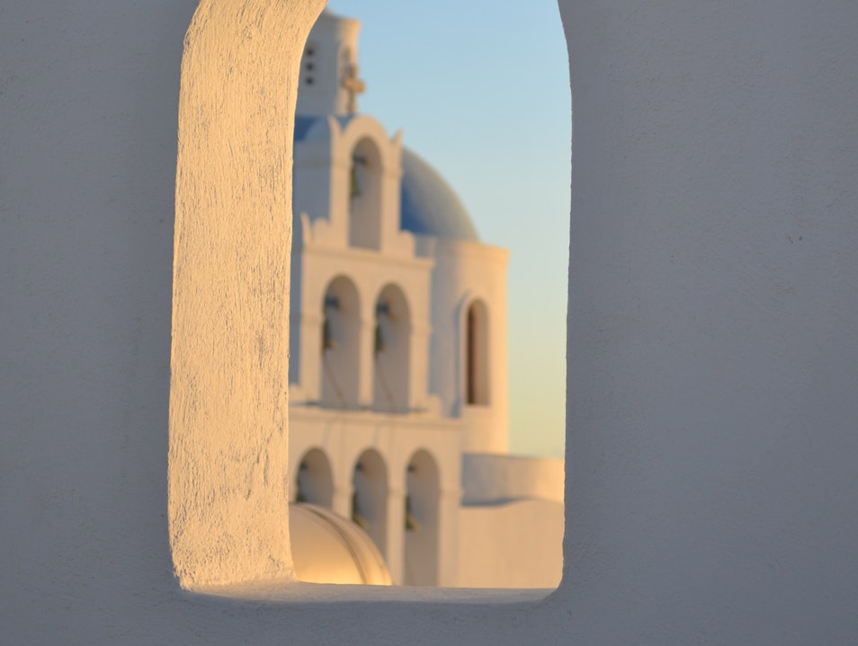 Grecian Sunrise Oia  Greece
