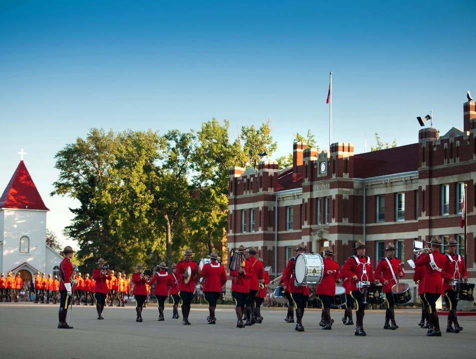 Meet the Mounties Regina  Canada
