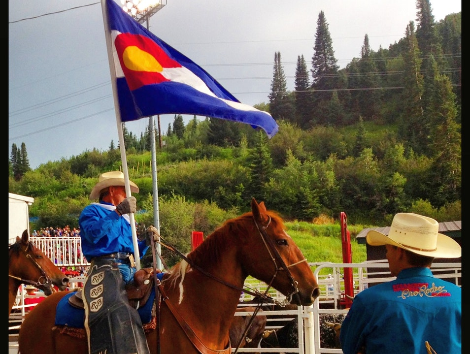Steamboat Springs Summer Rodeo Series Steamboat Springs Colorado United States