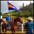 Brent Romick Rodeo Arena Steamboat Springs Colorado United States